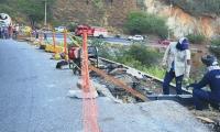 La vía estará suspendida por obras en el sendero del Ziruma.