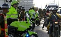 La Policía cuida las principales vías del país.