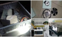 La droga era camuflada en electrodomésticos devueltos para garantía.