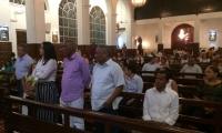 Familiares y amigos de Edgar Perea se congregaron en Barranquilla para conmemorar un año tras su partida.