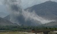 Las primeras imágenes del bombardeo.