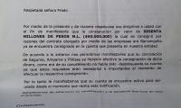 Documento falso del Banco Davivienda donde se certifica la consignación a su cuenta.