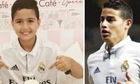 El hijo del artista agradeció la solidaridad del futbolista colombiano.