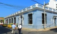 Sede de la saliente Metroagua, en Santa Marta.