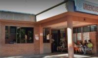Fachada del hospital de Armero-Guayabal.