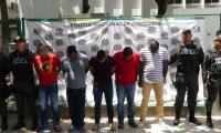 Estas cinco personas fueron capturadas por los secuestros.