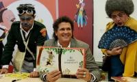 Carlos Vives en la feria del Libro de Bogotá
