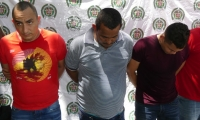 La banda fue capturada y llevada a los jueces el miércoles 26 de abril.