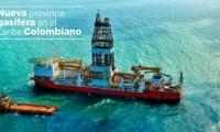 El presidente Santos anunció el éxito del hallazgo de gas.