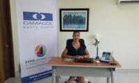 Liane Saumet Mendinueta, gerente de Camacol Magdalena.