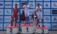 Nelson Soto ganador de la carrera.