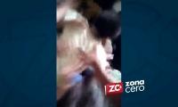En el video se puede evidenciar la fuerte golpiza que recibió la menor por parte de sus compañeros.