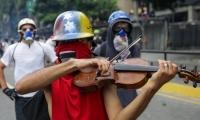 Willy Arteaga dijo pertenecer al Sistema de Orquestas de Venezuela