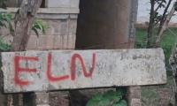 El mensaje alusivo al ELN en zona rural de El Banco alertó a los pobladores.