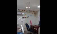 Personal médico trató de solucionar la situación en el puesto de salud.