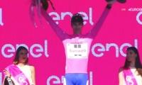 Tom Dumoulin (Sunweb) se adjudicó este martes la etapa y la camiseta de líder del Giro de Italia.