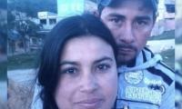 Francisco Javier Guerra, asesinado, y su esposa Diana Rojas, presunta homicida.