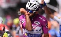 Gaviria, de 22 años, ya tiene su póquer en el Giro de su debut.