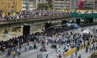 Los opositores protestan en la principales ciudades del país.