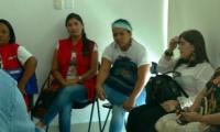 Los afectados sostuvieron una reunión con funcionarios de Salud Distrital y Cafesalud