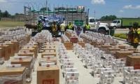 56 mil cajetillas de cigarrillo de diferentes marcas fueron incautadas en las vías del Cesar.