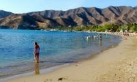 Playa de Taganga.