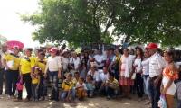 Pobladores de Salaminita.