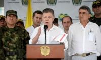 El Presidente Juan Manuel Santos, lideró consejo de seguridad en Sucre.
