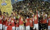 Independiente Santa Fe, campeón de la Liga Águila 2016-II.