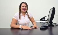 Ana Milena Albarracín, coordinadora de la Oficina Servicio de Atención a la Comunidad (SAC) de Ciénaga.
