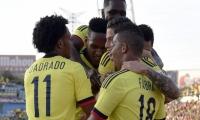 La Selección Colombia venció a Camerún en partido amistoso en España. Los goles fueron de James Rodríguez, Yerry Mina (x2) y José Heriberto Izquierdo.