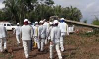 Los operarios de Electricaribe trabajaran de manera continua hasta superar la emergencia.