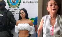 La mujer fue capturado a la salida del canal de televisión.