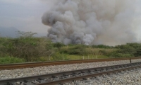 La intención de la entidad ambiental es que se prevengan los incendios forestales en Ciénaga.