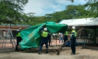 La Unidad Defensora del Espacio Público -Udep- realizó los operativos en esta zona de la ciudad.