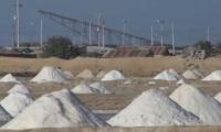 Minas de sal en La Guajira.