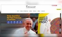 La página del Papa.