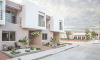 Así lucen las casas de Villas de Andalucía en Santa Marta.