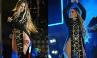 Este fue el vestido que lució Jennifer López en el sensual concierto.