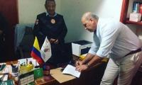 Ante un Juez tomó posesión Félix Ospino designado como alcalde (e) de Pivijay.