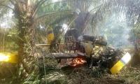 El piloto, Bernald Wolf Ortiz falleció luego del accidente que sufrió el 22 junio.