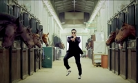 Captura de YouTube, canción 'Gangnam Style'.