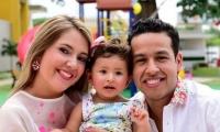 Dayana Jaimes, Paula Elena y martín Elías.