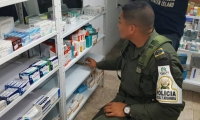 En varios establecimientos comerciales de Santa Marta también han sido incautados medicamentos provenientes de Venezuela.