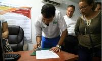 Las partes firmaron el acta de concertación.