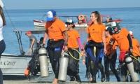 Por primera vez 150 buzos se une para realizar una limpieza submarina en las playas de Santa Marta.