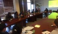 La secretaria de Salud del municipio Ipiales, Ana María Revelo, se reunió con autoridades del municipio para evaluar la situación.