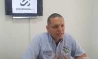 Alcalde de Ciénaga, Edgardo 'Nene' Pérez.