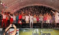 Premiación del Festival Vallenato Indio Tayrona en el año 2014