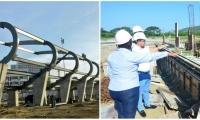 El alcalde Rafael Martínez verifica cada mes cómo avanzan las obras.